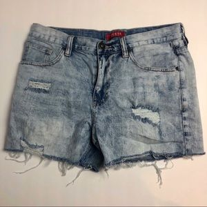 Vintage Acid Wash Guess Mom Shorts